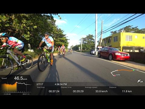 Fast Group Ride on my Tern Folding Bicycle (34 kph avg, 47 kph max)