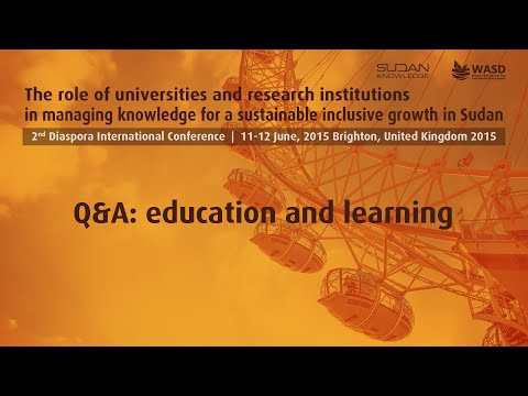 Q&A: education and learning