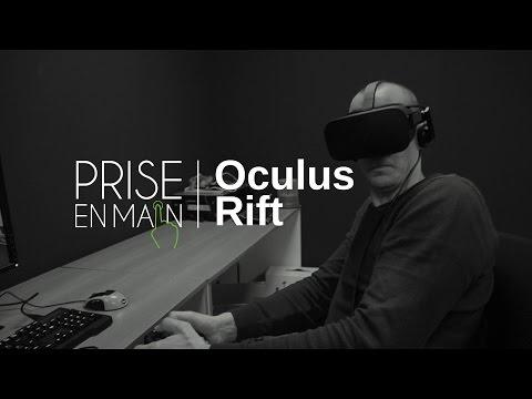 Prise en main du casque de réalité virtuelle Oculus Rift