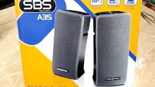 SBS A35 Creative Dolby Bass Speaker
