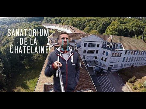 Urbex, visite commentée du sanatorium de la Châtelaine Ep09 S02, + drone urbex.