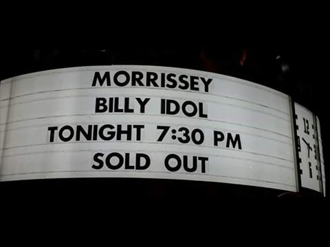 Morrissey concert - live - Low In High School Tour - Hollywood Bowl - Los Angeles CA - 11/11/17