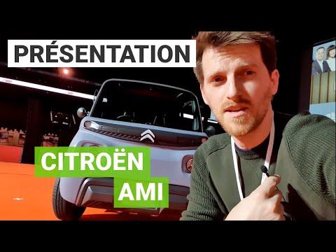 Citroën AMI : mieux qu'un RENAULT Twizy ?