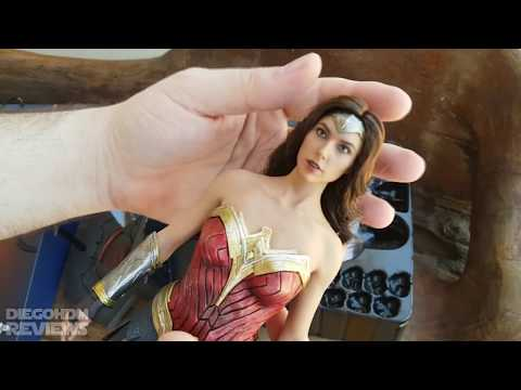 Hot Toys WONDER WOMAN Review BR / DiegoHDM