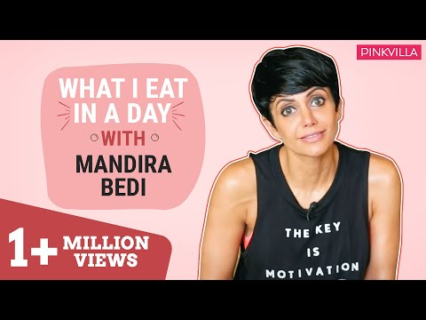 Mandira Bedi : What I eat in a day | Pinkvilla | Bollywood | S01E07