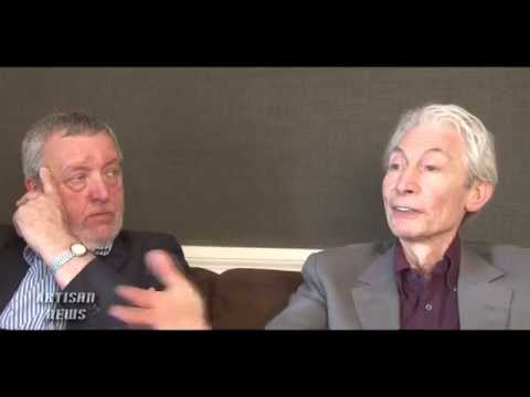 THE ROLLING STONES CHARLIE WATTS EXCLUSIVE INTERVIEW - THE ABC&D OF BOOGIE WOOGIE