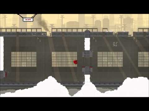 Zan is bad at Super Meat Boy 1 - My voice is not echoy I have a condition!