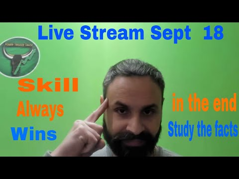 Study to make money in stocks with options in  the market live stream // PowerTarget Trades