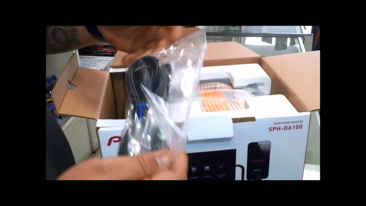 Pioneer Sph-da100 Unboxing