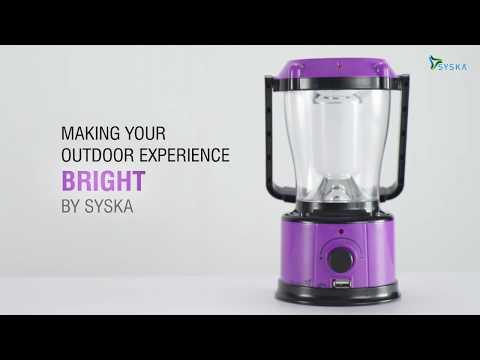 Syska Solar Emergency Light