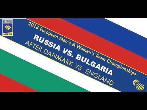 2018 EWTC QF Russia - Bulgaria (Court 1)