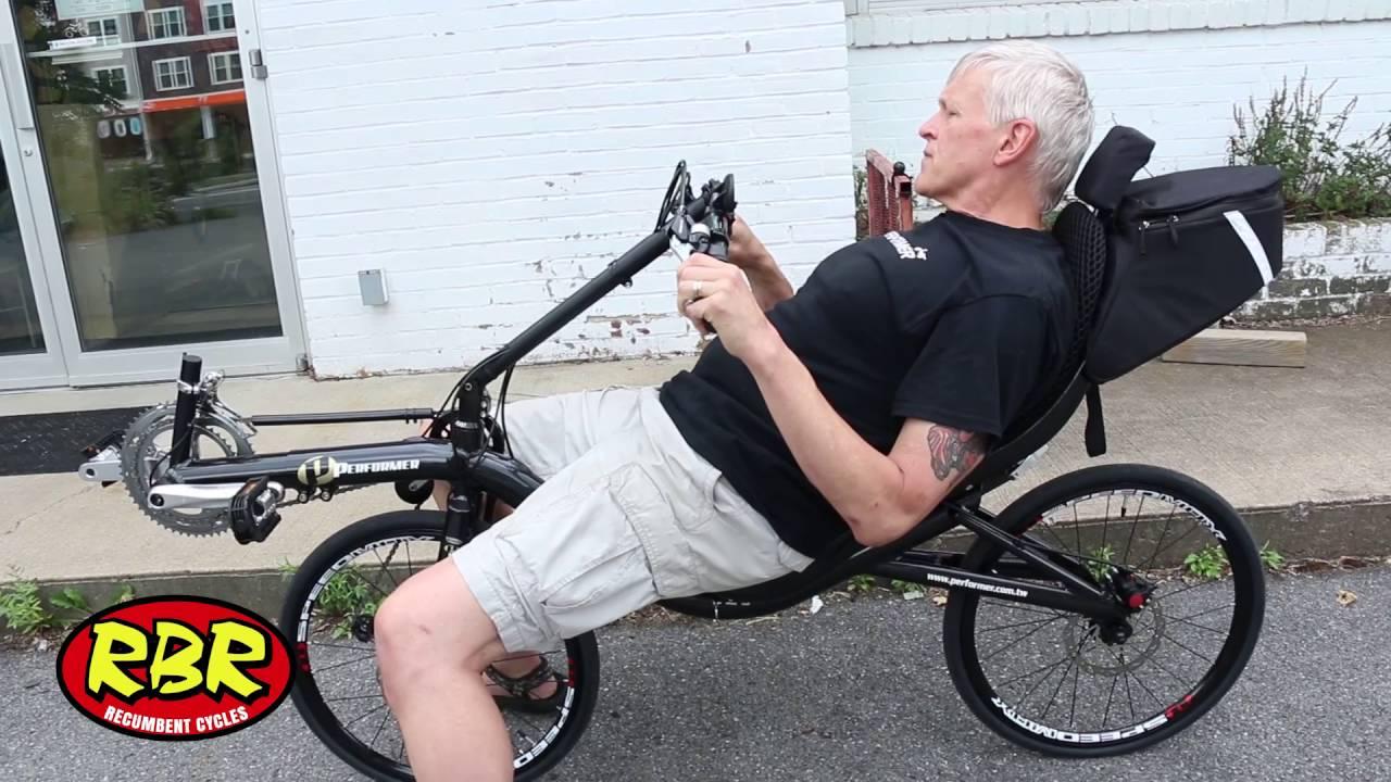 A Look At The Performer Folding Fwd Recumbent Bike Youtube