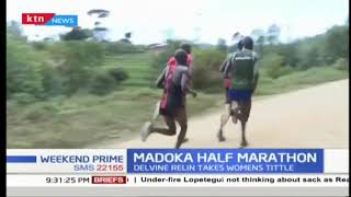 Daniel Muindi and Delvine Relin Meringor are new champions of Safaricom-Madoka Half Marathon