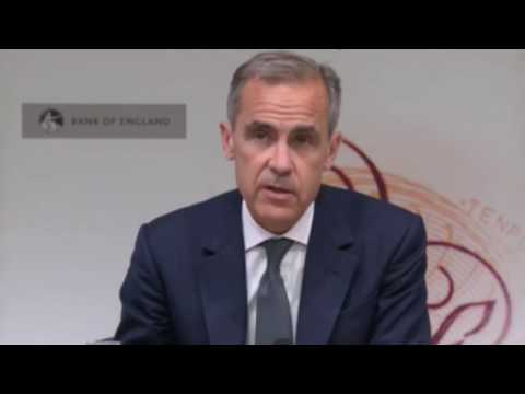 UK heading for a 'smooth Brexit' Mark Carney finally admits economy is NOT set to collapse
