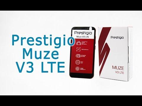 Обзор смартфона Prestigio MUZE V3 LTE