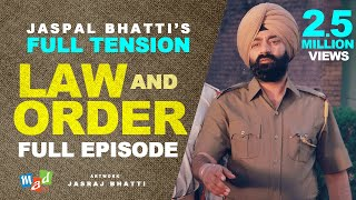 Full Tension (Full Episode) | Jaspal Bhatti | Law & Order |