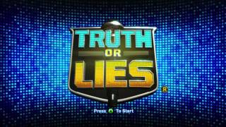 Truth or Lies Title Screen (HD)