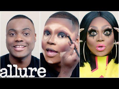 RuPaul's Drag Race Star Mayhem Miller's Drag Transformation Tutorial   Allure