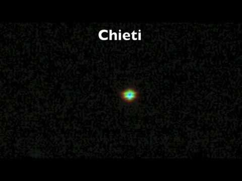 UFO's roar globe over Chieti (Italy)