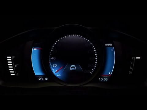 The Adaptive Digital Display In The V60 Plug-in Hybrid