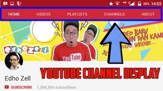 Video How To Setting Youtube Channel Display (Youtube Tutorial) download MP3, 3GP, MP4, WEBM, AVI, FLV Maret 2018