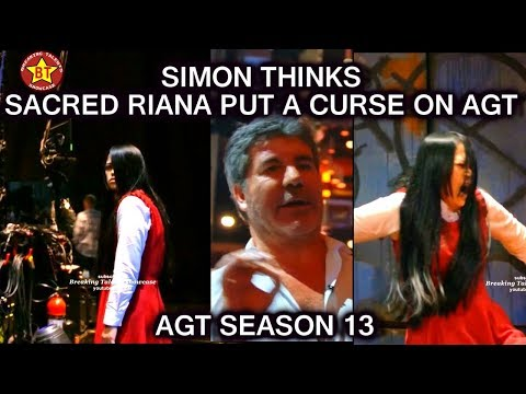 Simon Cowell Thinks The Sacred Riana Put a Curse on AGT America's Got Talent 2018 QUARTERFINALS 2