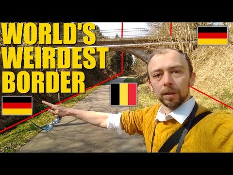 Vennbahn: The World's Weirdest Border?