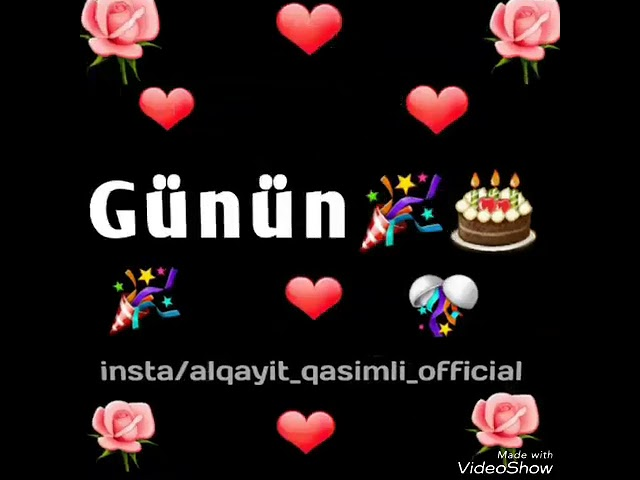Dogum Gunun Mubarek Dogum Gunune Ozel 2019 Youtube
