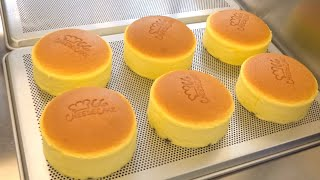 How Fluffy Cheese Cake Are Made