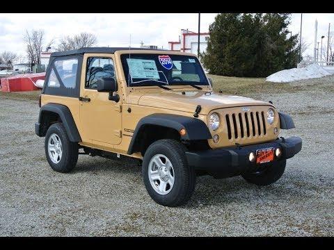 2014 jeep wrangler sport dune for sale dealer dayton troy piqua sidney ohio 26959t youtube. Black Bedroom Furniture Sets. Home Design Ideas