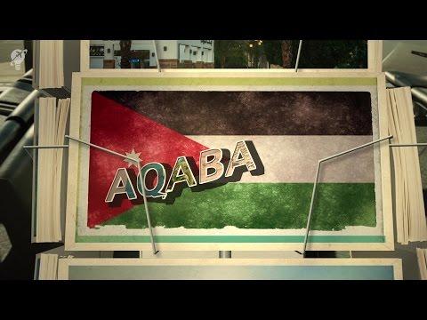 postcards Aqaba Jordan