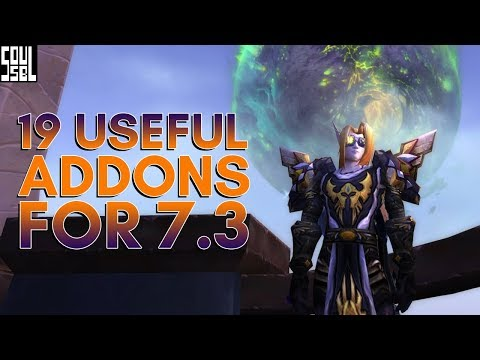 19 addons of patch 7.3 worth looking at!
