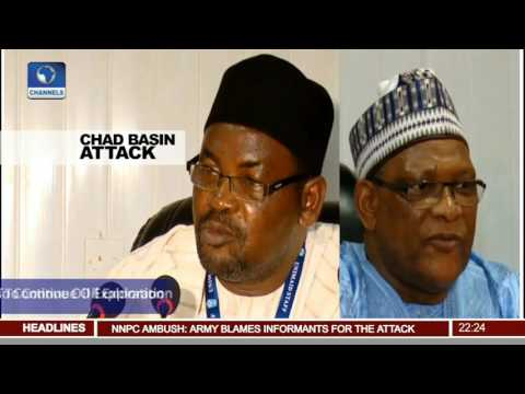 News@10: UNIMAID Vows To Continue Oil Exploration In Chad Basin 31/07/17 Pt 2