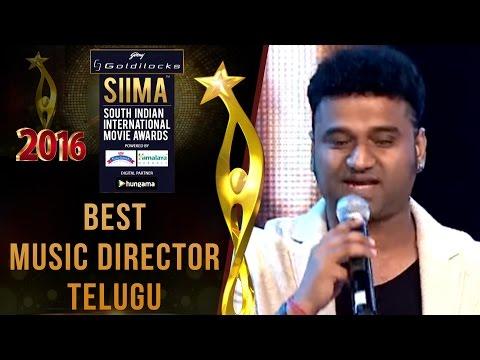 Siima 2016 Best Music Director Telugu | Devi Sri Prasad - Sreemanthudu Movie