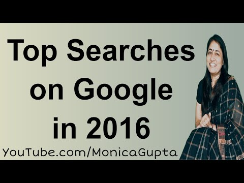 Google Top Searches India 2016 - अलविदा 2016