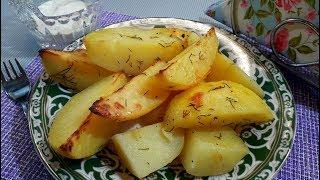 Картофель запечённый в Рукаве в Духовке / Как Вкусно Приготовить Картошку в Духовке