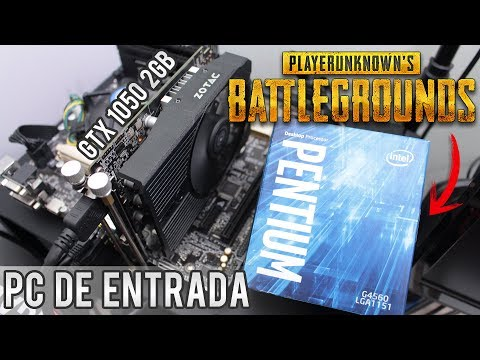 Teste - PUBG Battlegrounds com PC de entrada - Pentium G4560 / GTX 1050 2GB / 8GB 2400 Mhz