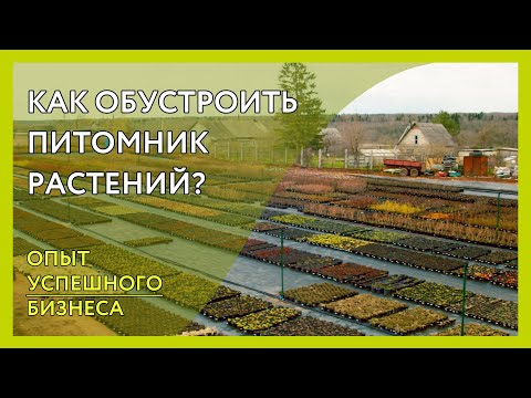 Организация питомника растений. Как сделать всё по уму? Опыт успешного бизнеса Новая территория 12га