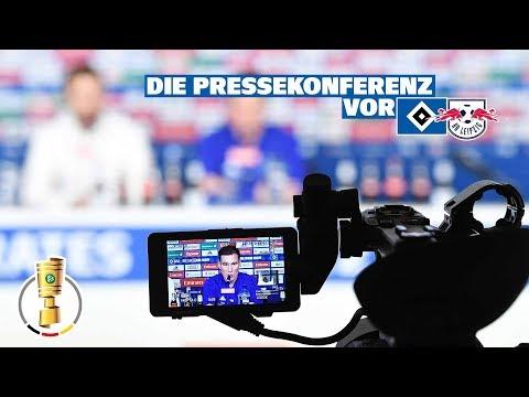 RELIVE: Die Pressekonferenz vor dem DFB-Pokal-Halbfinale gegen RB Leipzig