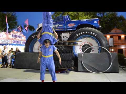 Pit Crew Acrobats FULL Show
