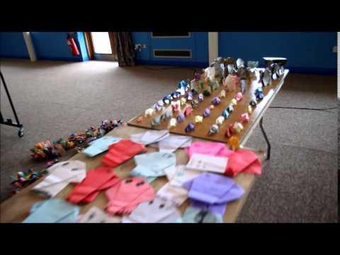 Zsl Whipsnade Bos Origami Elephant World Record Youtube