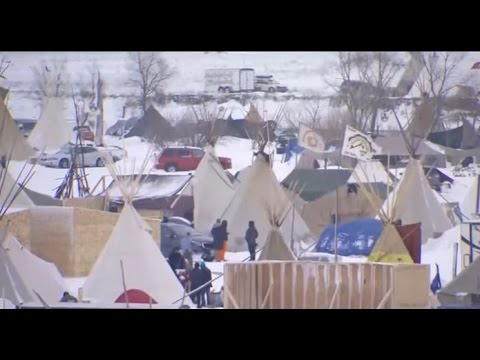 DAPL protest site now one of the largest cities in North Dakota