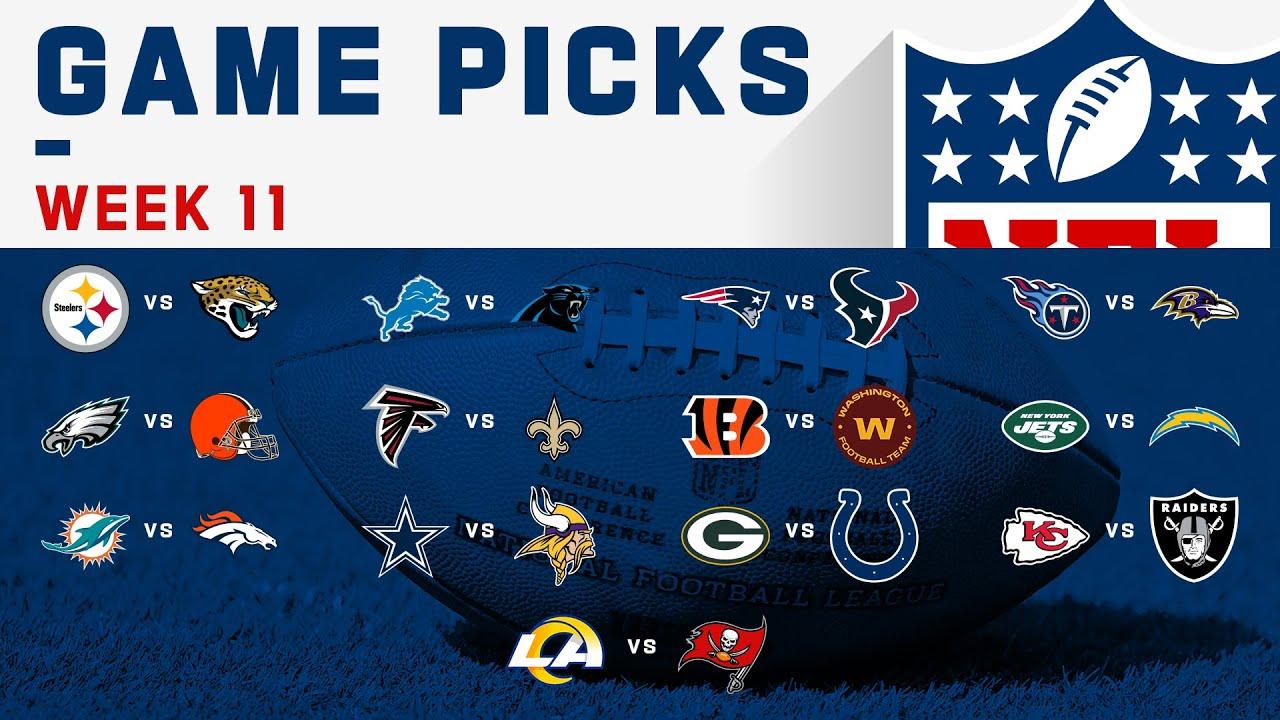 Download Week 11 Game Picks! | NFL 2020