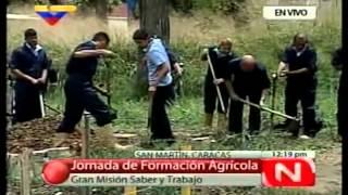 Jornada de formación Agrícola en la Gran Misión Saber y Trabajo
