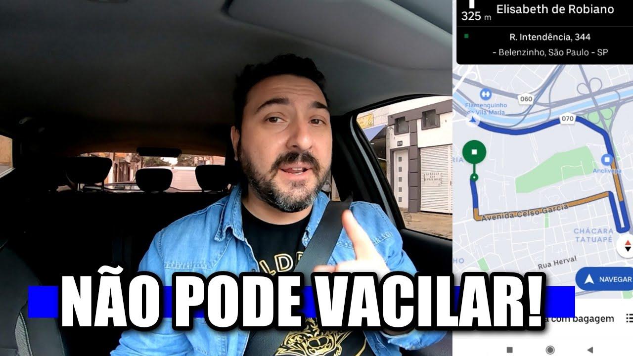 Tá FÁCIL se dar MAL não pode VACILAR na GRANA EXTRA DA UBER