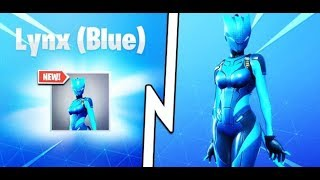 Finally Unlocking the BLUE LYNX Skin in Fortnite!