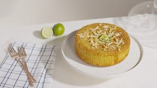 How to Make Gluten and Dairy-free Lime, Coconut and Almond Quinoa Cake | House of Fraser