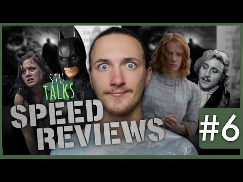 Speed Reviews #6 - Young Frankenstein, Evil Dead (2013), The Dark Knight Trilogy & More!