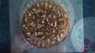 """Рецепт: Бисквитный торт """"Три орешка"""""""