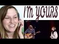 GRACE VANDERWAAL, JASON MRAZ - I'M YOURS | REACTION